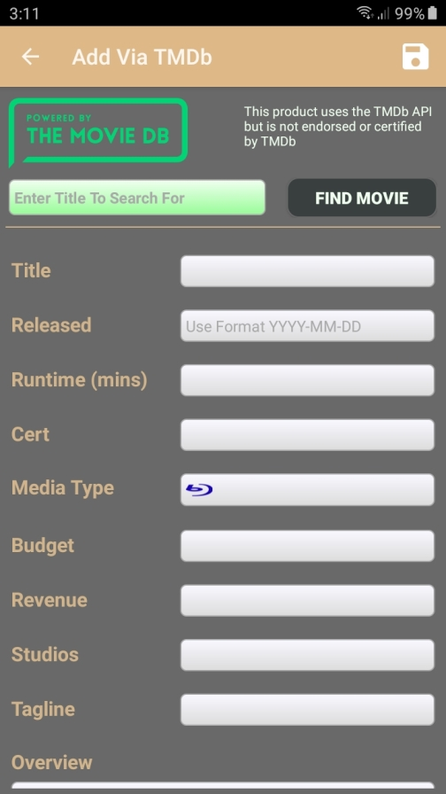 TMDb download page